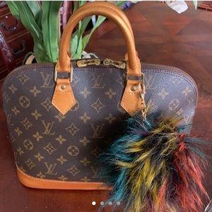 Authentic Louis Vuitton Alma Satchel Hand Bag